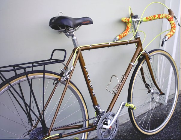 Bike Vintage Trek 1975 Waterloo quot Now the bike has almost been