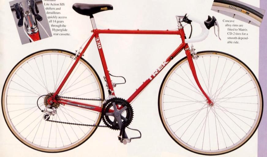 Trek 330 Shifters... - Bike Forums