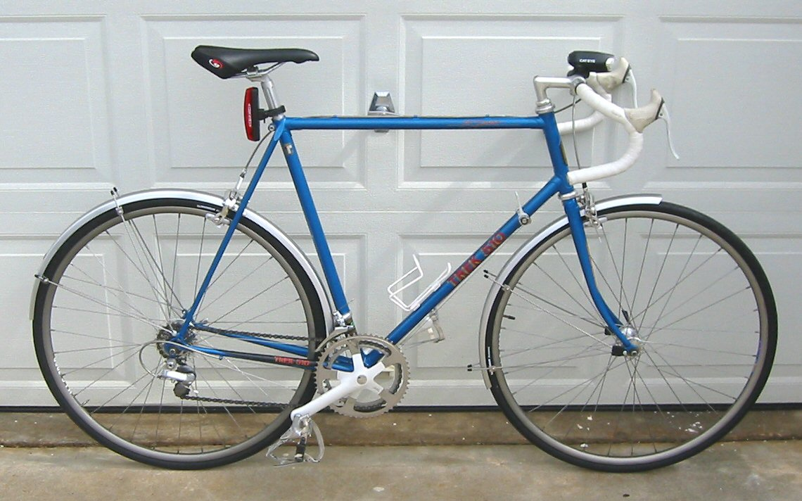 Vintage Trek Gallery - 1984 Model 510 and 1985 Model 660 - Jennings ...