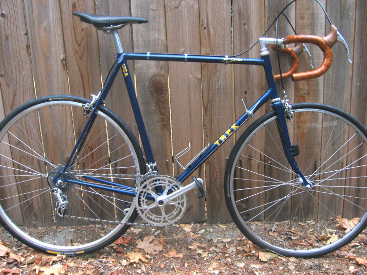 Bike Vintage Trek 1975 Waterloo I decided to build a bike