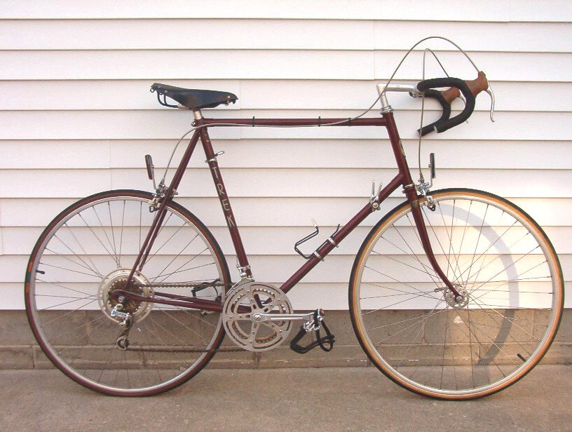 Bike Vintage Trek 1975 Waterloo quot This is a TREK TX bike