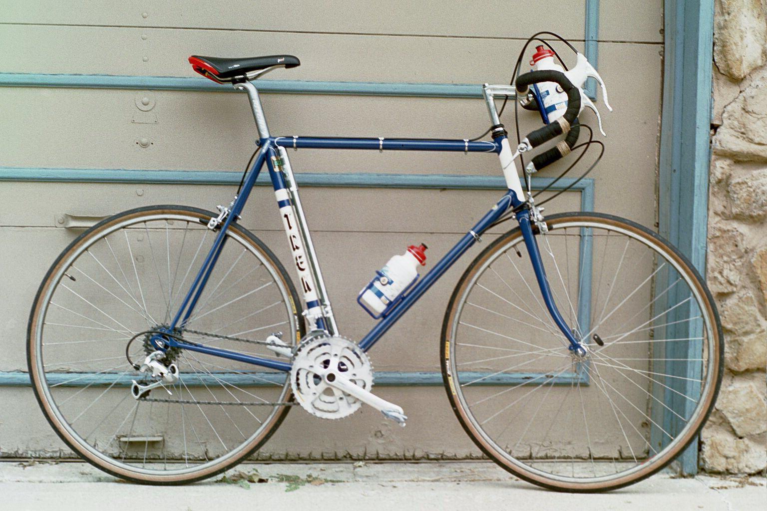 Vintage Trek Gallery - Tom Adam\'s Trek 730 Steel Road Bike